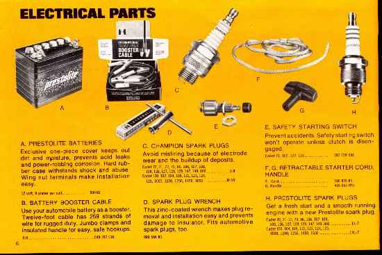 Cub Cadet Electrical Accessories